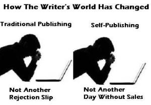 self publishing vs trad publishing